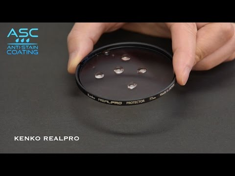Kenko REALPRO Filters. The magic of Anti-Stain Coating