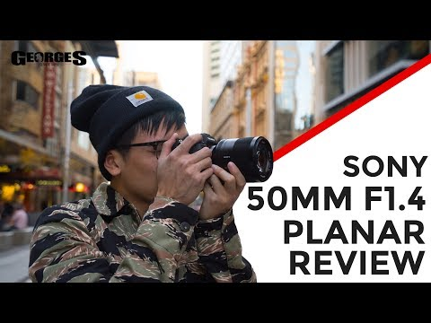 SONY'S BEST 50mm!? | Sony 50mm F/1.4 ZEISS Planar Review by Georges Cameras