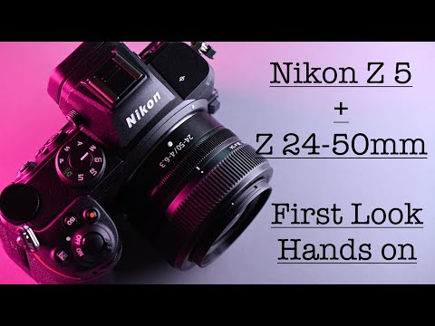 Nikon Z5 + Z 24-50mm First Look with Sample images.