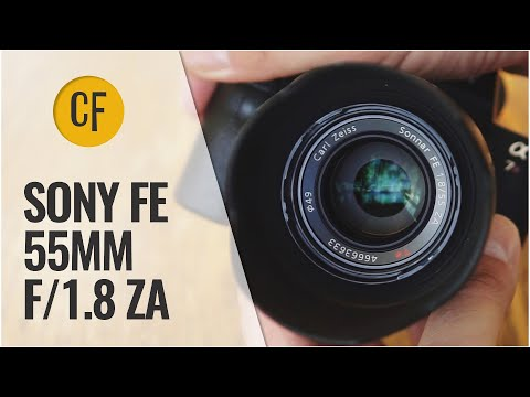 Sony (Zeiss) 55mm f/1.8 ZA lens review & comparison (Full-frame & APS-C)