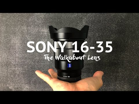 Sony A7III + the only lens you need? Sony 16-35 F4