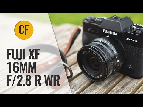 Fuji XF 16mm f/2.8 R WR lens review with samples