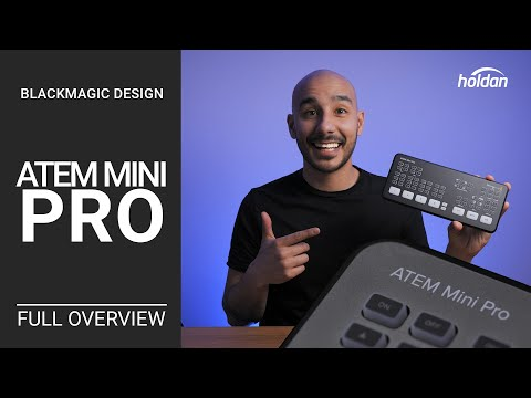 ATEM Mini Pro Complete Overview | First Look | What you need to know | Blackmagic Design Review