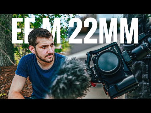 Trying The 22mm f2 With The Canon M50 (yes it's that good)