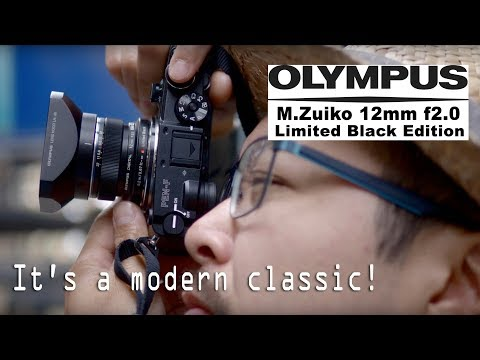 Olympus M.Zuiko 12mm f2.0 (Limited Black Edition) - RED35 Review 2018