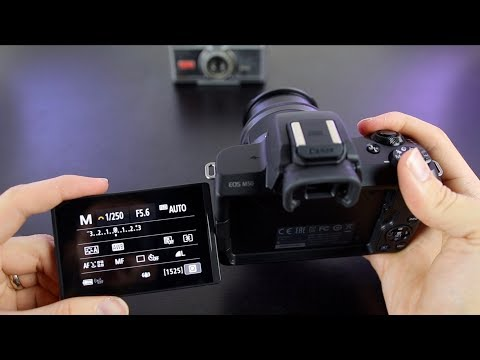 Canon EOS M50 Tutorial - Beginner's User Guide to Buttons⁠⁦ & Menus