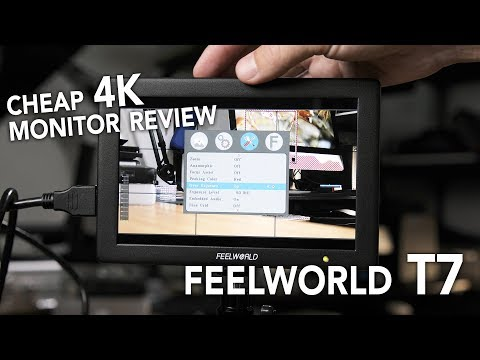 (English) Feelworld T7 On Camera Monitor Review (in 4K)