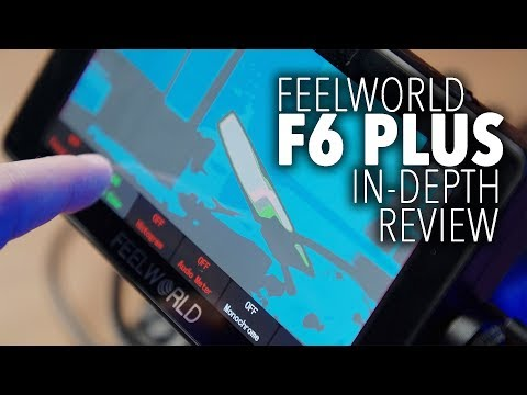 """Feelworld F6 Plus   5.5"""" 4k Touch Screen Monitor with LUTS"""