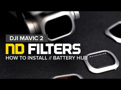 DJI Mavic 2 Pro Filters and Battery Hub
