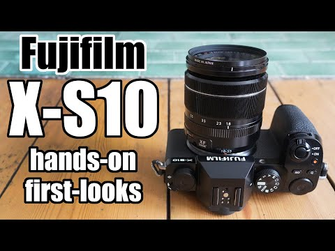 Fujifilm X-S10 HANDS-ON first-looks review vs X-T30
