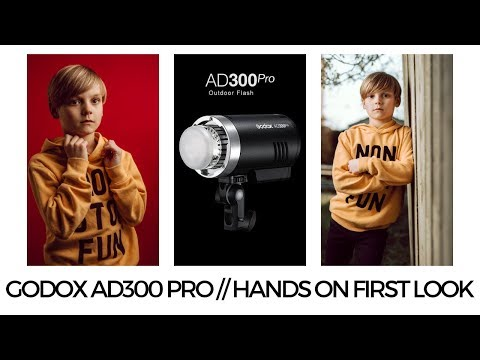 GODOX AD300 PRO // HANDS ON FIRST LOOK