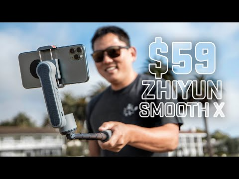 Zhiyun Smooth X | The $59 2-Axis Phone Gimbal Stabilizer