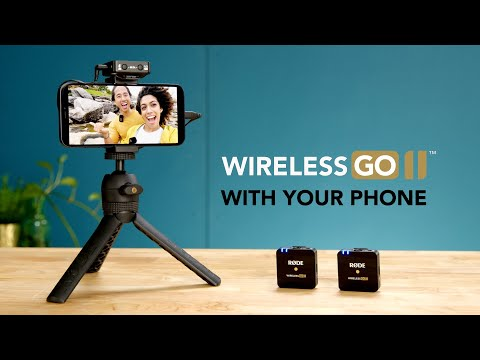 Using The Wireless GO II With Your Smartphone   Sounds Simple