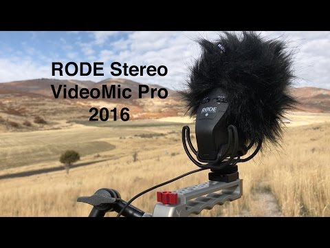 RODE Stereo VideoMic Pro: Redesigned in 2016
