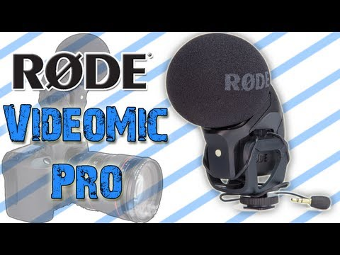 Rode Stereo VideoMic Pro Review & Demo!