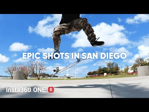 Epic Camera Shots in San Diego – Insta360 ONE R Twin Edition