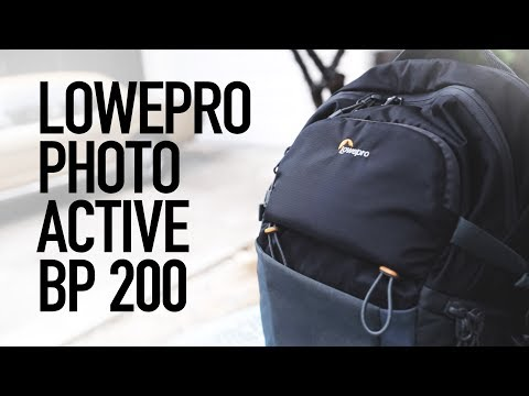 Lowepro Photo Active BP 200 - Perfect Hiking Camera Backpack