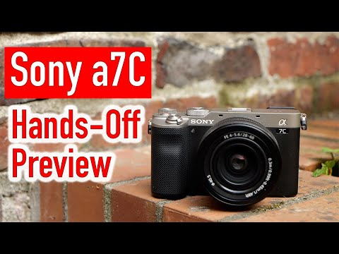 Sony a7C Hands-Off Preview