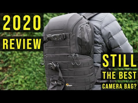LOWEPRO PROTACTIC AW450 II Review in 2020 + How much can it carry! - Ultimate camera backpack!