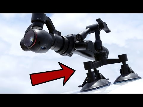 DJI Osmo Vehicle Mount   Hands-on Review + Testfootage