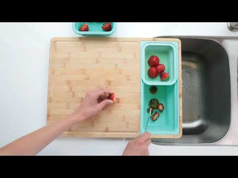 Now on Kickstarter: TidyBoard - Cut your prep & clean-up time in half