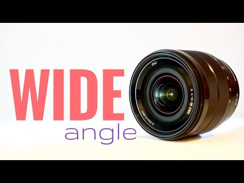 Sony 10-18mm F/4 Wide Angle Lens Overview