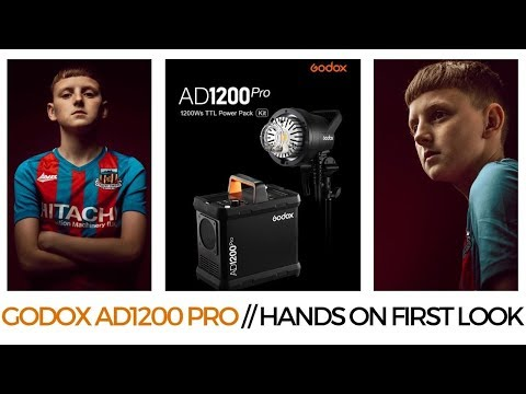GODOX AD1200 PRO // HANDS ON FIRST LOOK