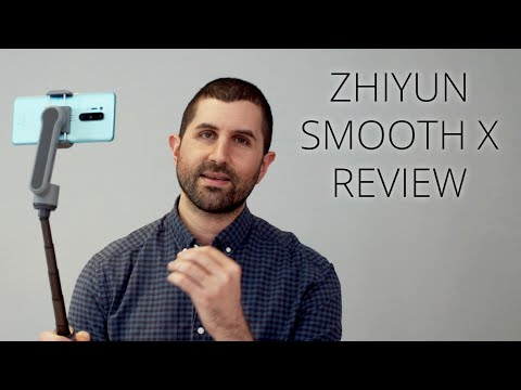 Zhiyun Smooth X World First Review! Best selfie stick ever; or is it a gimbal?