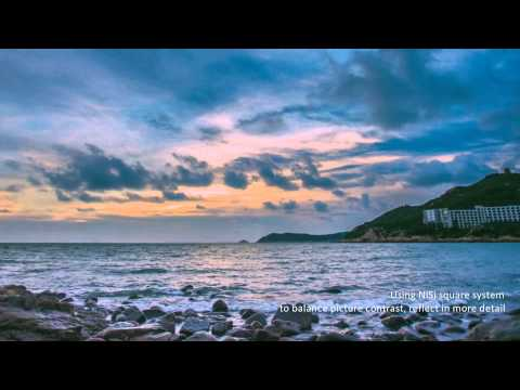 How to make the great land photo with NiSi square filter series and Nisi GND series