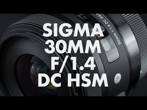 Lens Data - Sigma 30mm f/1.4 DC HSM Review
