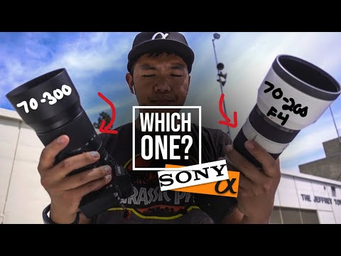 Sony 70-300 F/4.5-5.6 G OSS vs Sony 70-200 F4 G OSS | Which One to Buy?