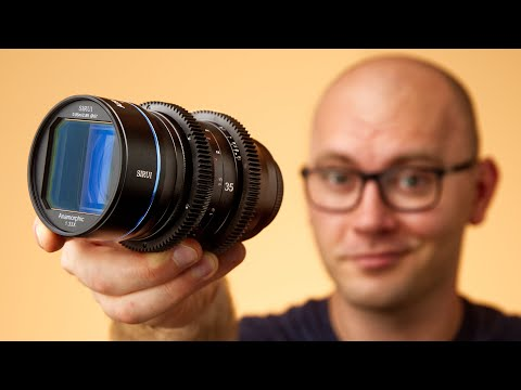 The New Sirui 35mm Anamorphic Lens is Fantastic!