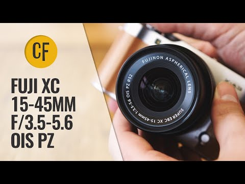 Fuji XC 15-45mm f/3.5-5.6 OIS PZ lens review with samples