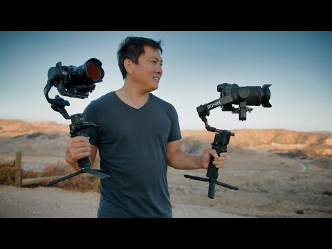 DJI RS2 & RSC2 | First Look At The New Handheld Stabilizer Gimbals