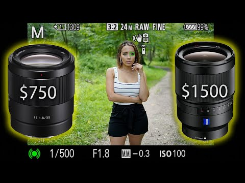 The NEW Sony 35mm 1.8 vs Sony Zeiss 35mm 1.4| Is the F1.4 lens worth double the price?