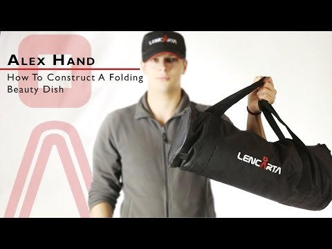 How To Construct A Folding Beauty Dish | Lencarta | Tutorial