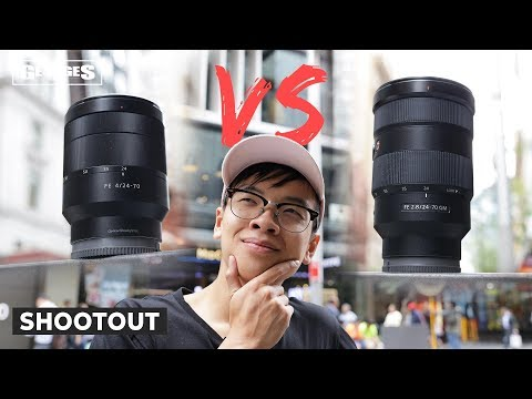 Sony 24-70mm F2.8 GM vs Zeiss 24-70mm F4 | Which is the better 24-70?