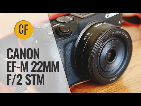 Canon EF-M 22mm f/2 STM lens review with samples