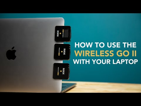 Using The Wireless GO II With Your Computer   Sounds Simple