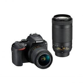 Nikon D5600 + AF-P 18-55 + AF-P 70-300 VR