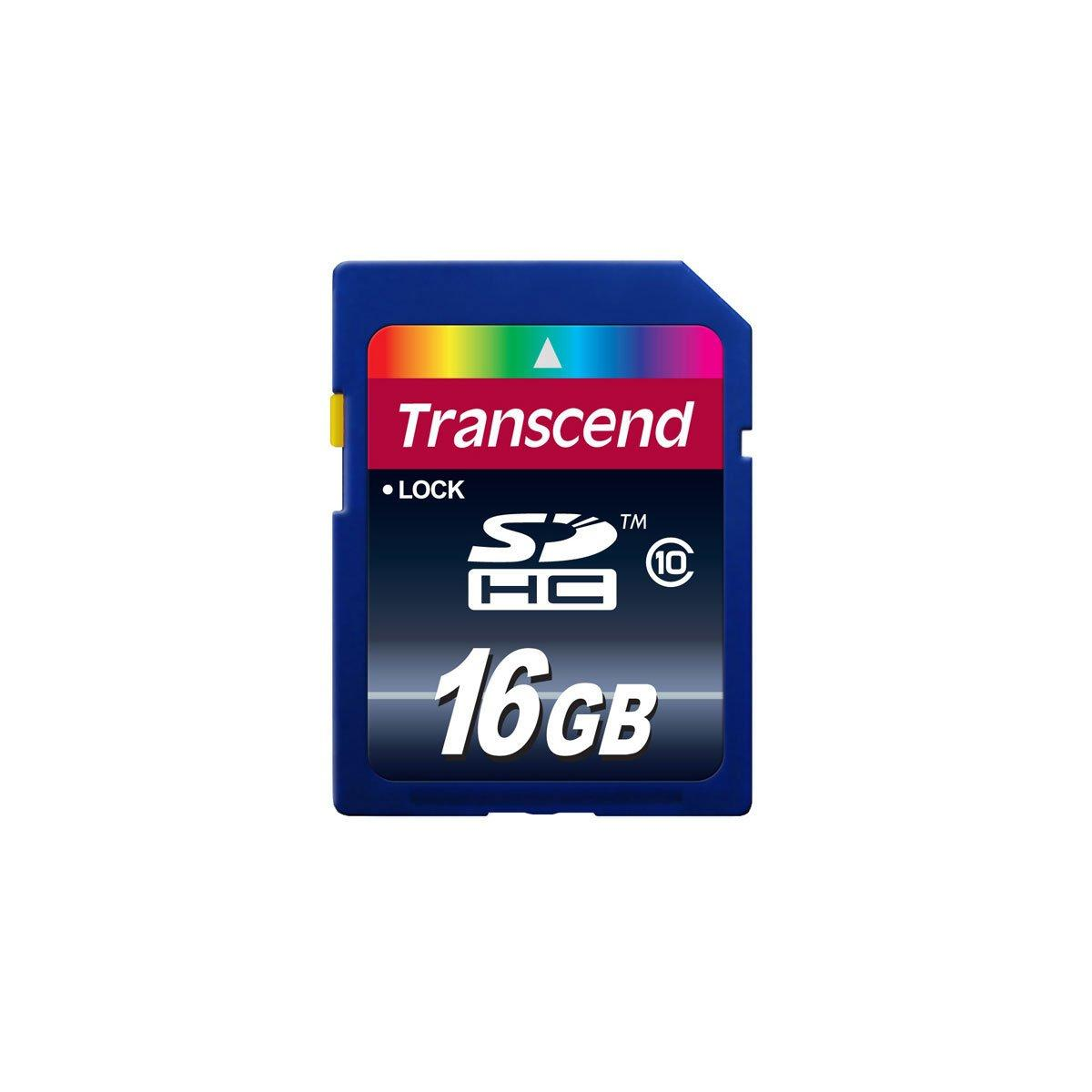 Transcend SDHC CLASS 10 16GB