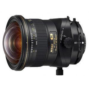 Nikon PC Nikkor 19mm f/4 E ED tilt-shift
