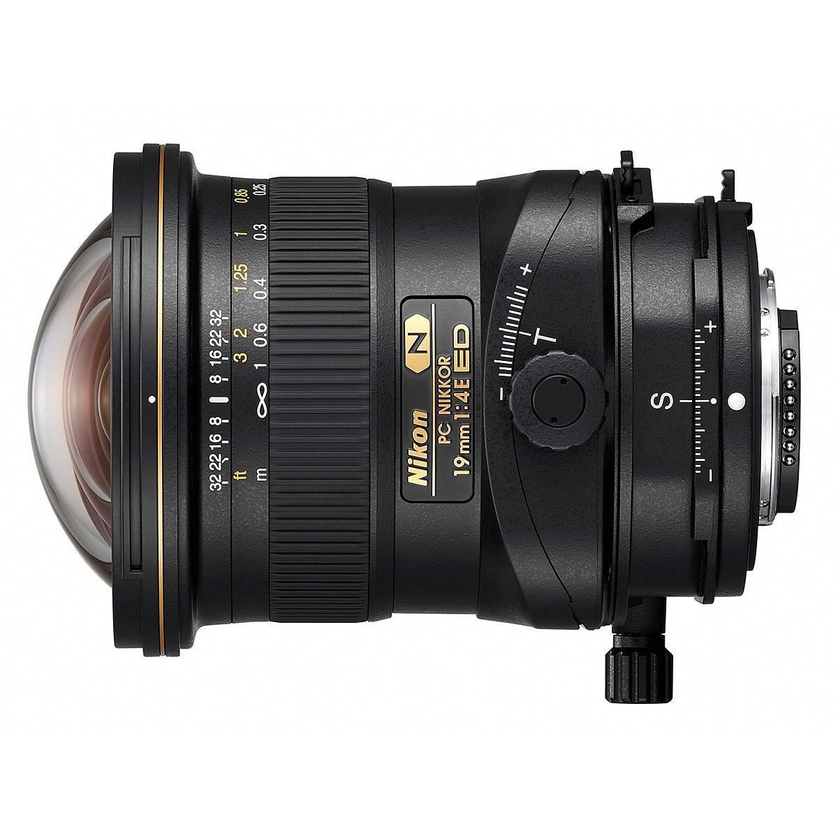 Nikon PC Nikkor 19mm F4E ED tilt-shift