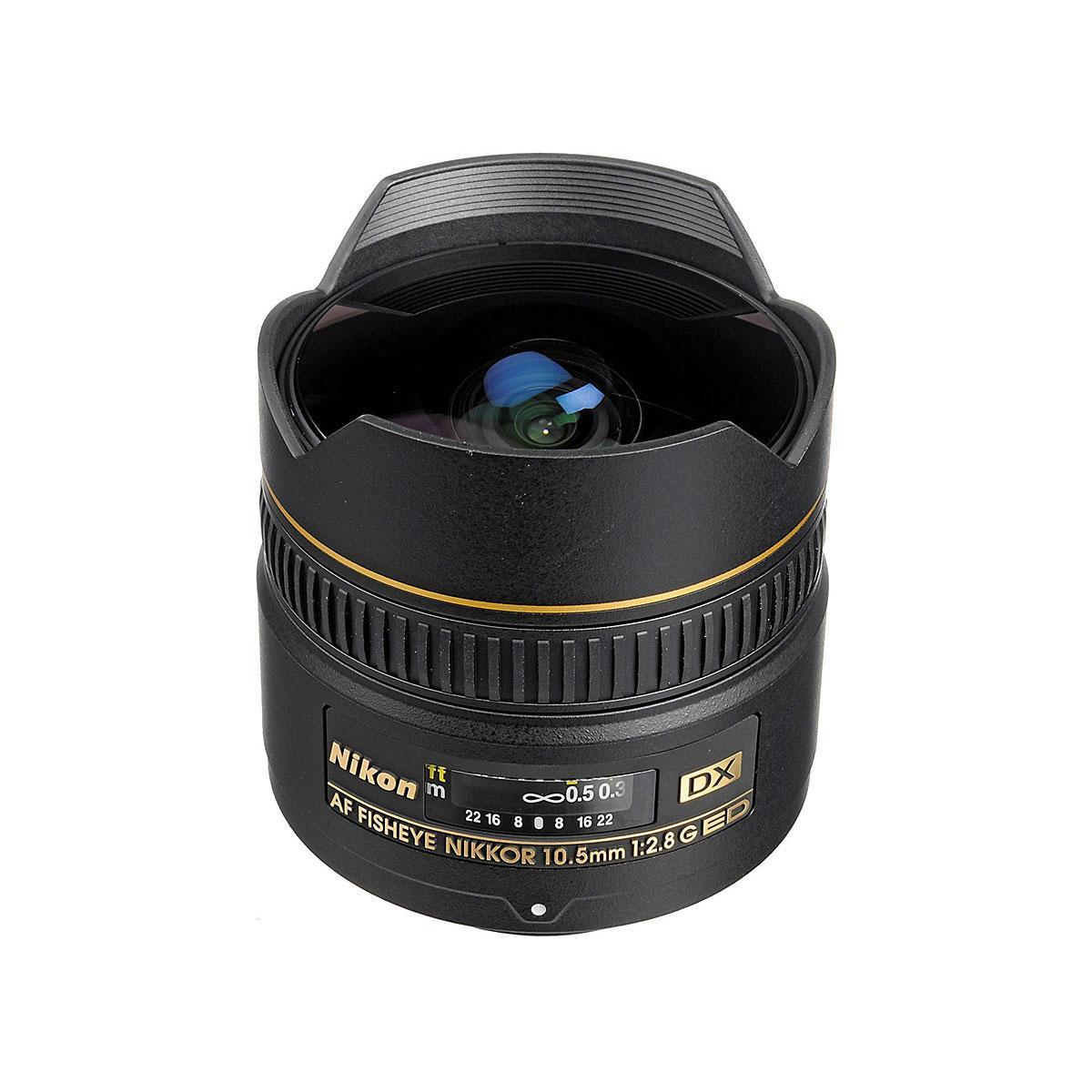 Nikon AF-S DX Fisheye Nikkor 10,5mm f/2.8G IF-ED