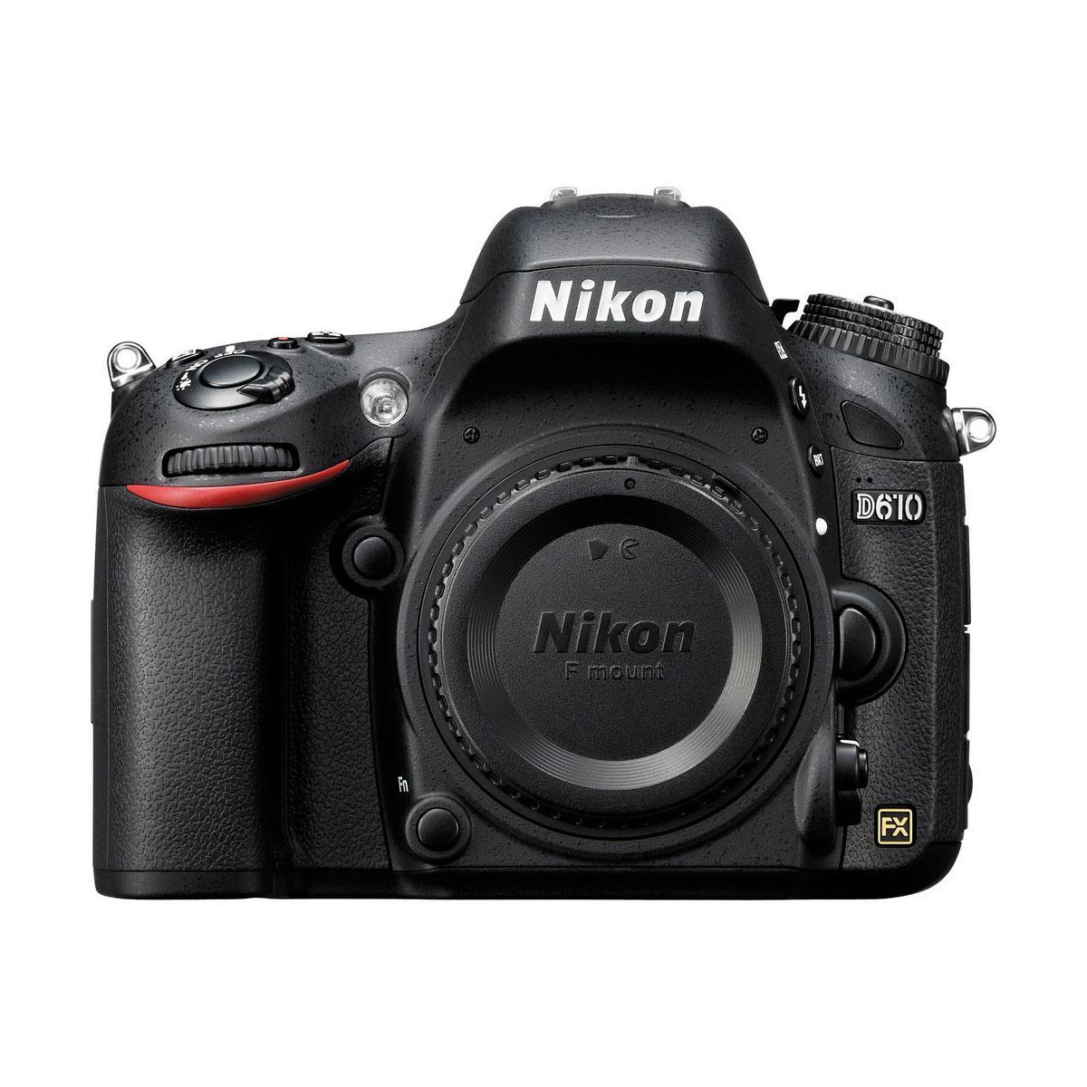 Nikon D610 runko