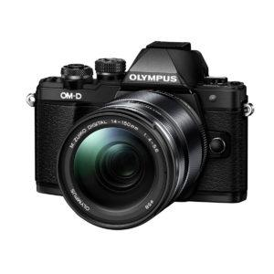 Olympus OM-D E-M10 mark II Musta + M.Zuiko 14-150 Musta