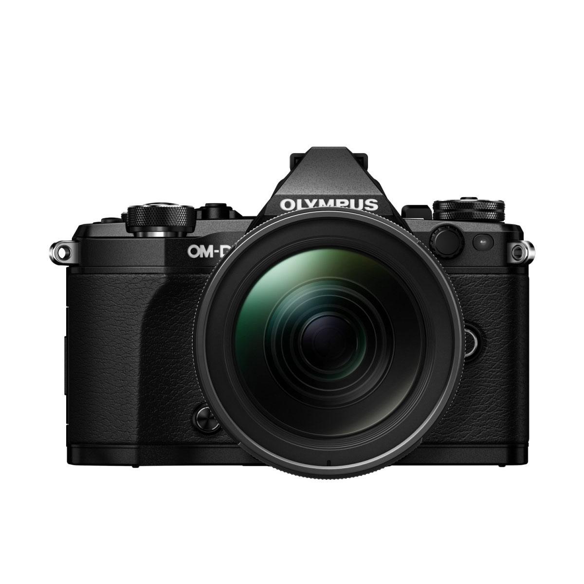 Olympus OM-D E-M5 MK II + M.Zuiko 12-40mm f/2.8 ED Pro – musta
