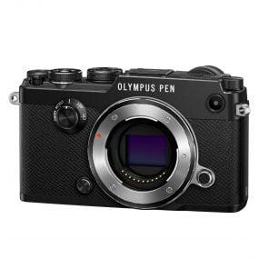 Olympus Pen-F runko musta
