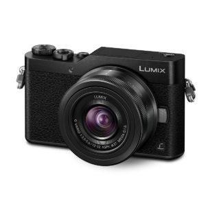 Panasonic Lumix DC-GX800 + 12-32/3,5-5,6 Musta