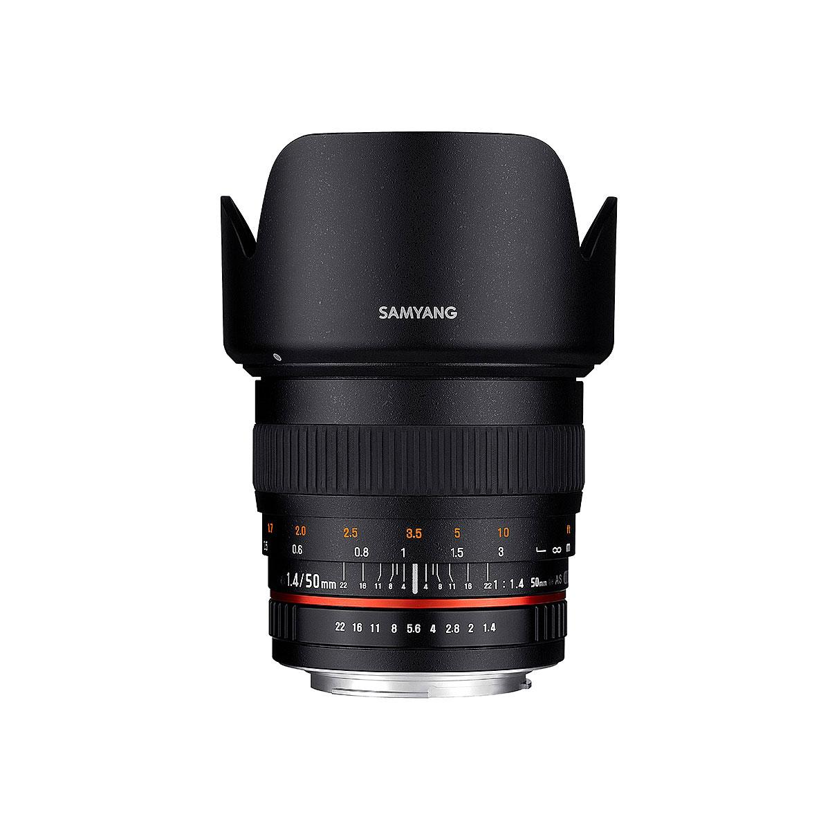 Samyang 50MM F1,4 (FULL-FRAME) – Canon mount